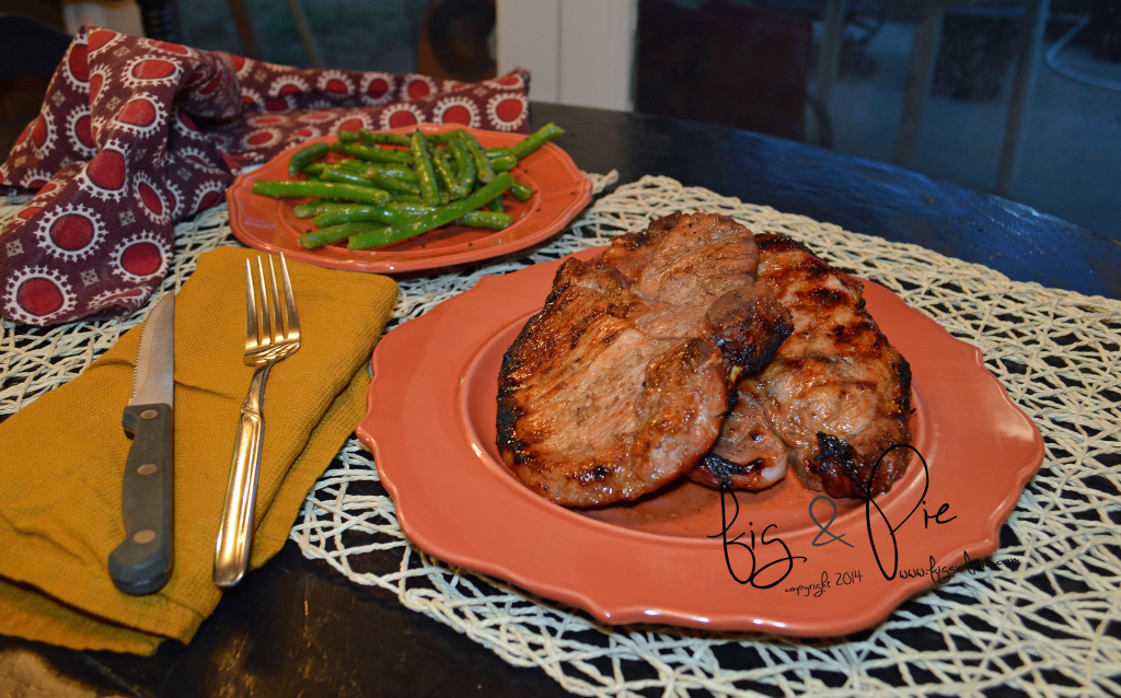 Spicy Plum Pork Chops (4) WM