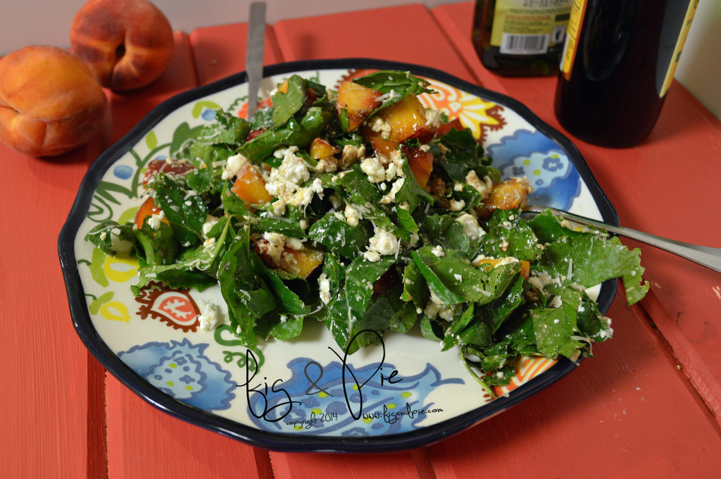 Kale Salad with Peaches (11) WM