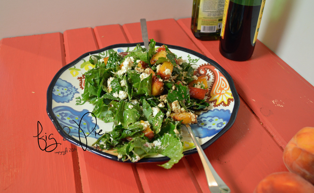 Kale Salad with Peaches (3) WM