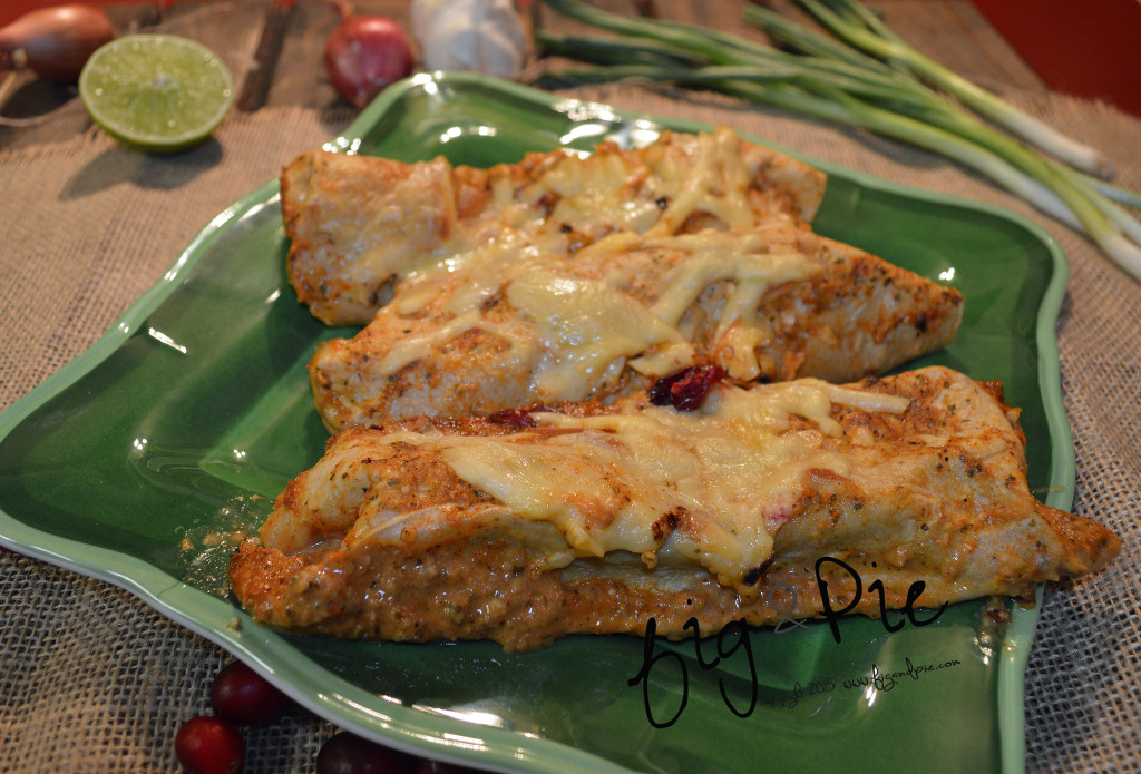 Smoked Gouda Enchiladas wFire Roasted Tomatillo Cranberry Sauce (13) WM