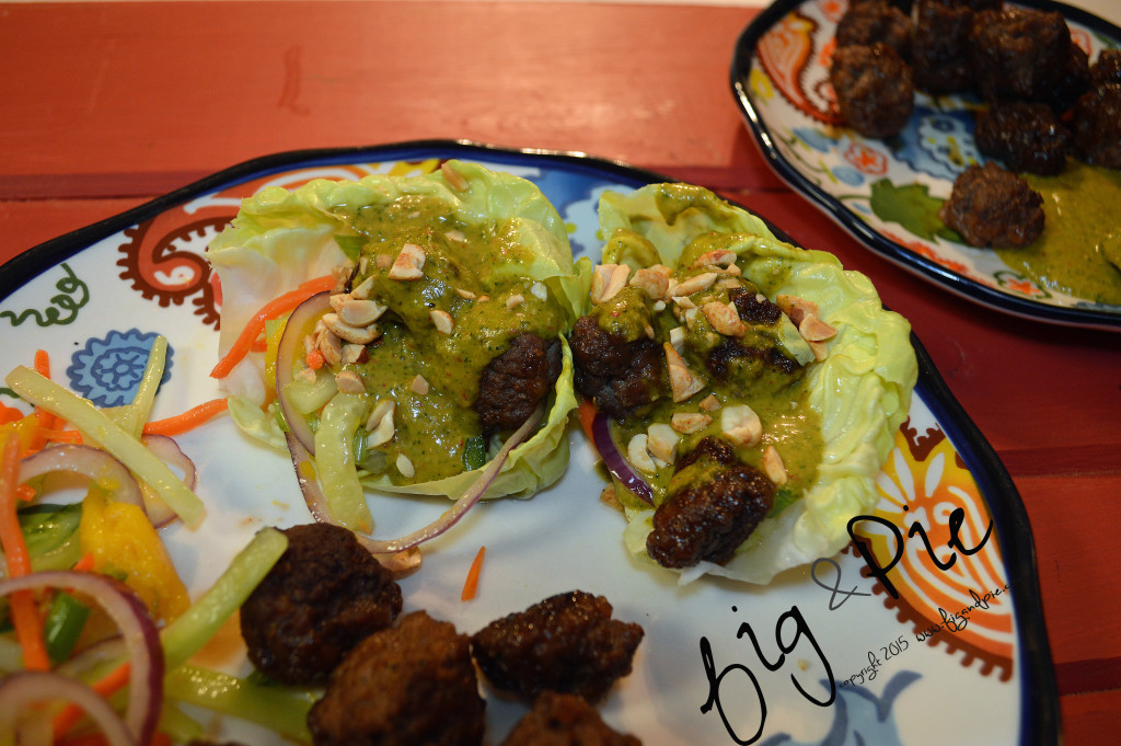 Asian Inspired Meatball Lettuce Wraps (4) WM